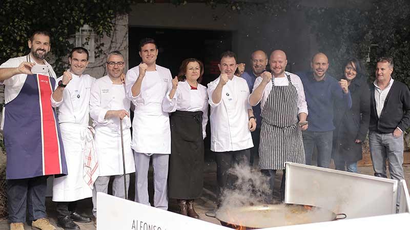 Martin Berasategui y david de jorge encuentros gastronomicos alfonso mira