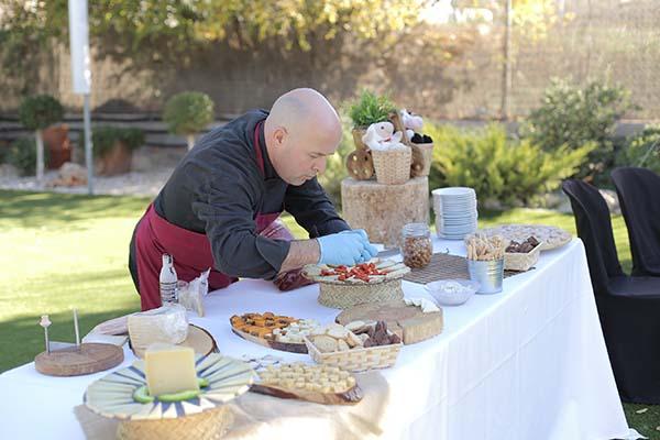 buffet de quesos catering boda