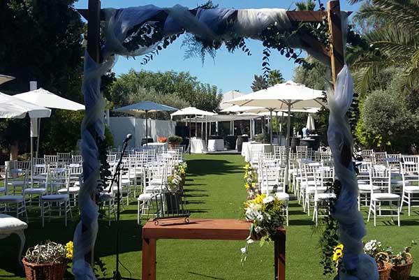 eventos y bodas en jardines